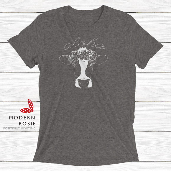 The Aloha Cow Tee