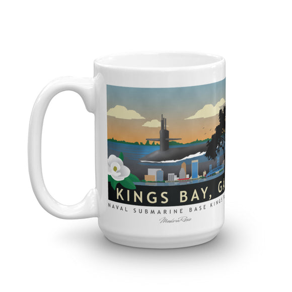 Kings Bay Submarine Base - Coffee Mug