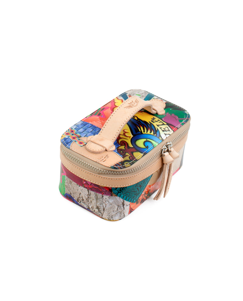 Patches Mini Train Case