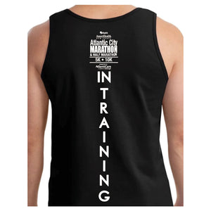 "Atlantic City Marathon Men's  ""In Training"" Tee - Sky Blue"