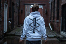 Load image into Gallery viewer, Limitless Hoodie White and Black