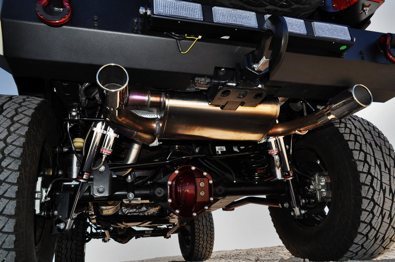 2007-2018 Jeep Wrangler JK Exhaust