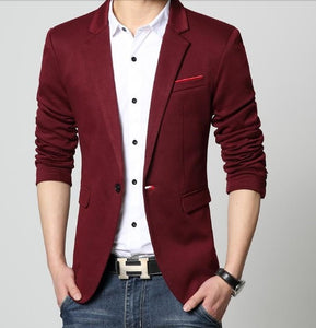 Jacket dark wine color