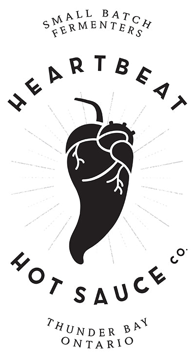 Heartbeat Hot Sauce Blueberry Habanero, 177ml