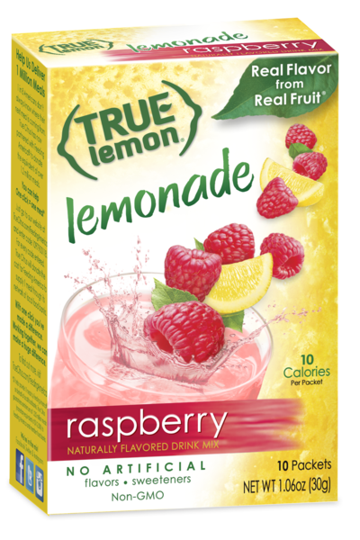 True Lemon Raspberry Lemonade 10-Count
