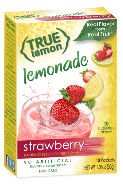 True Lemon Strawberry Lemonade 10-Count