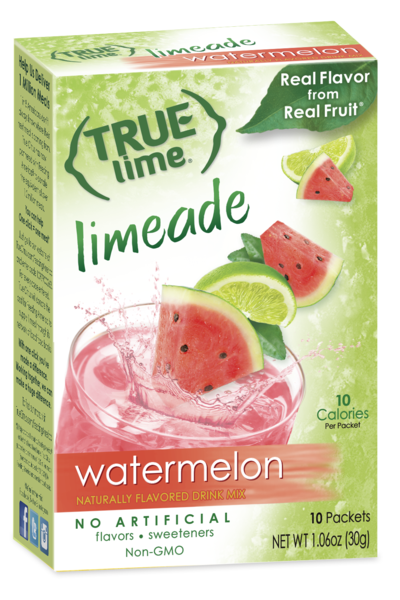 True Lime Watermelon Limeade 2 Litre 5-Count