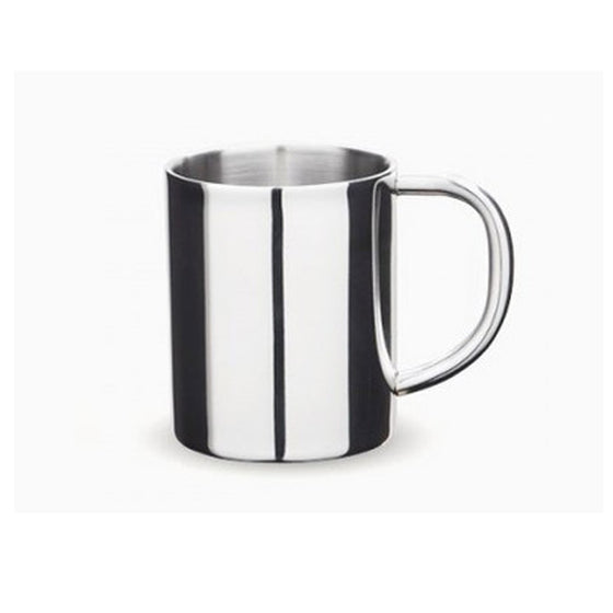 Onyx Stainless Steel Double Walled Mug, 8oz