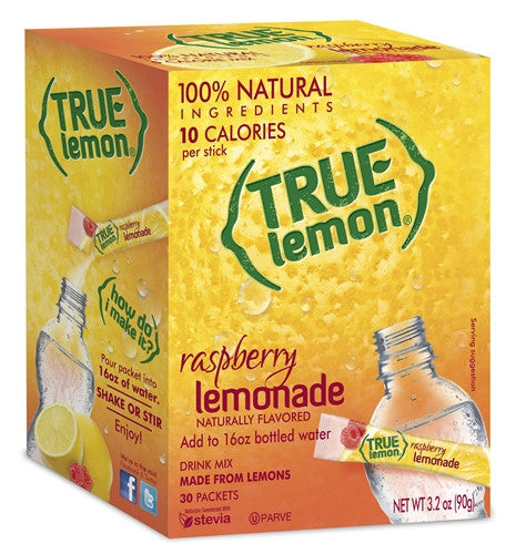 True Lemon Raspberry Lemonade 30-Count