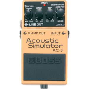 BOSS AC-3 Acoustic Simulator Pedal - Downtown Music Sydney