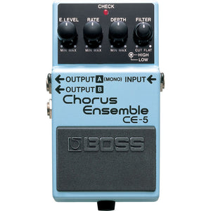 BOSS CE-5 Chorus Ensemble Pedal - Downtown Music Sydney