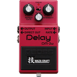 BOSS DM-2W Analog Delay Pedal - Downtown Music Sydney