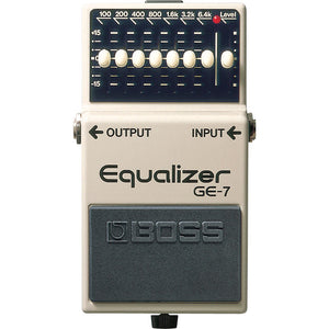 BOSS GE-7 Graphic Equalizer EQ Pedal - Downtown Music Sydney