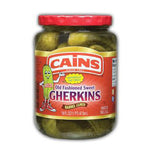 Cains Old Fashioned Sweet Gherkins - 16oz