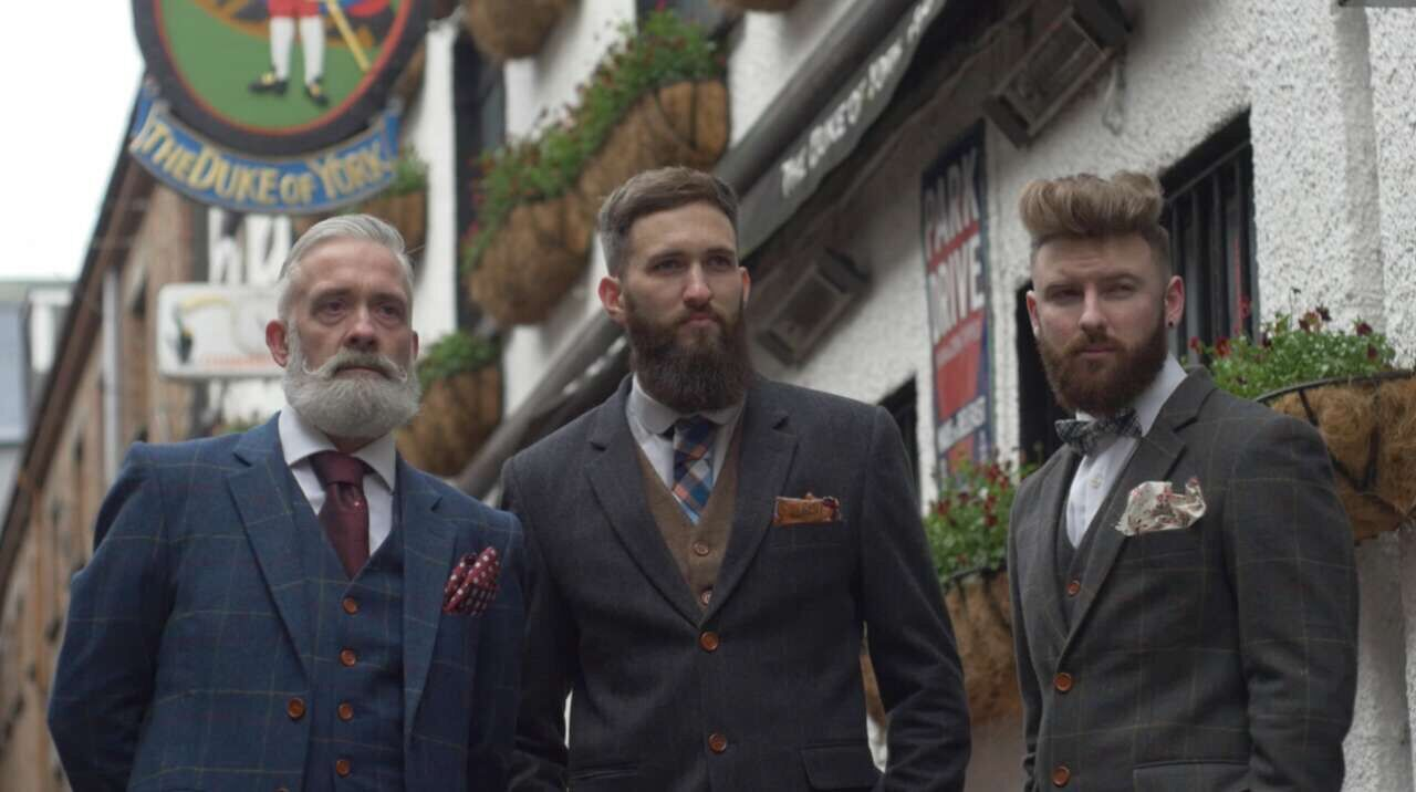 vintage tweed suit manufacturer with over 30 years
