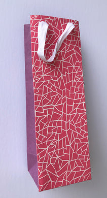 Wine Bag- Paper Fabric (Pack of 12 bags)
