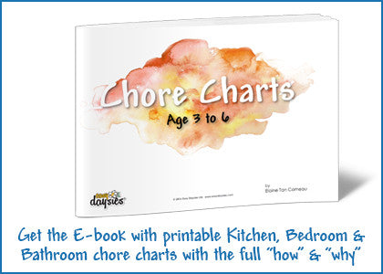 Printable chore charts for toddlers