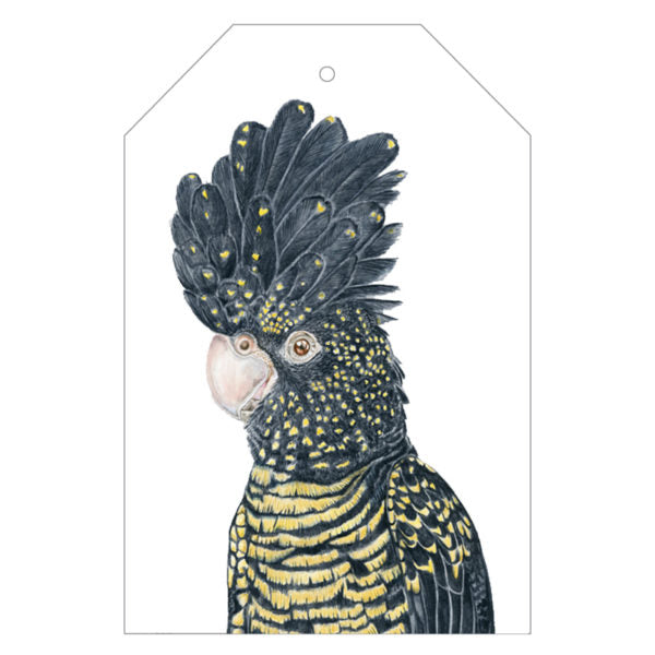 Lily the Red-Tailed Cockatoo Gift Tag Pack - For Me By Dee