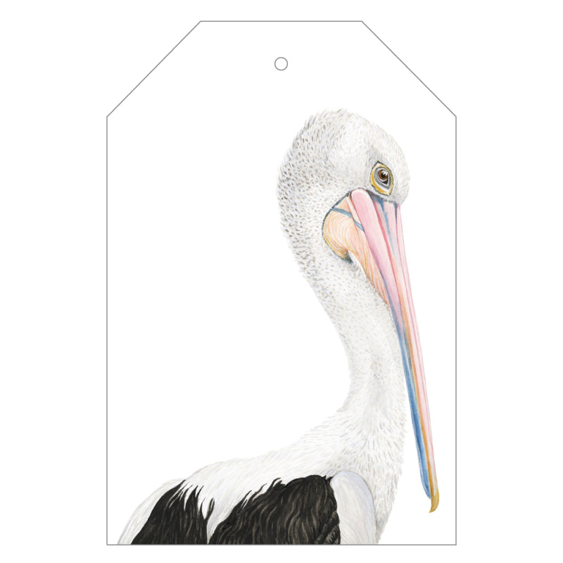 Pippa the Pelican Gift Tag Pack - For Me By Dee