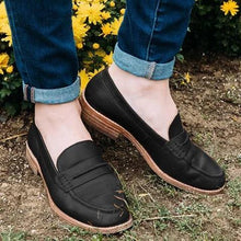 Load image into Gallery viewer, Women Casual Oxford Loafers Slip On Shoes