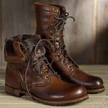 Load image into Gallery viewer, Men's Fashion High Quality Martin Boots Leather Short Martin British Casual Boots