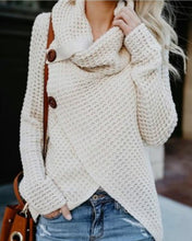 Load image into Gallery viewer, Women Fashion Long Sleeve Kintted Autumn Winter Sweater