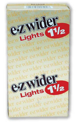 EZ WIDER - LIGHTS CIGARETTE PAPER 1.5 - 24CT/DISPLAY