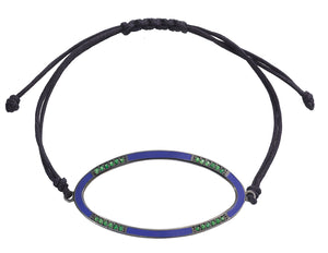 ELLIPSE PURPLE BRACELET