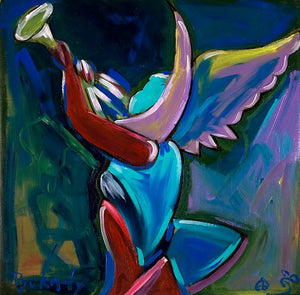 Higher Angel - Print by Artist John Bukaty