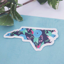 Load image into Gallery viewer, Floral NC Vinyl Sticker