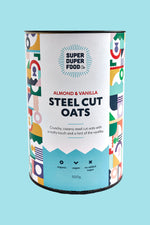 Almond & Vanilla Steel Cut Oats - 500g