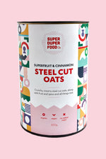 Superfruit & Cinnamon Steel Cut Oats - 500g