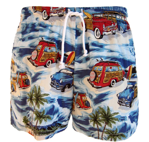 Woody Wagon Swim Trunks
