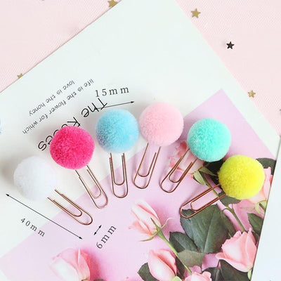 Kawaii meow 6 pcs Cute Paper Clip