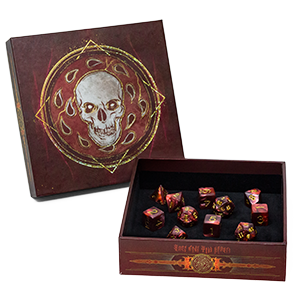 D&D Baldur's Gate: Descent into Avernus Dice Set