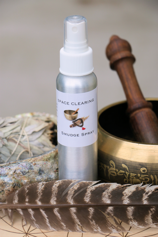 Space Clearing Smudge Spray