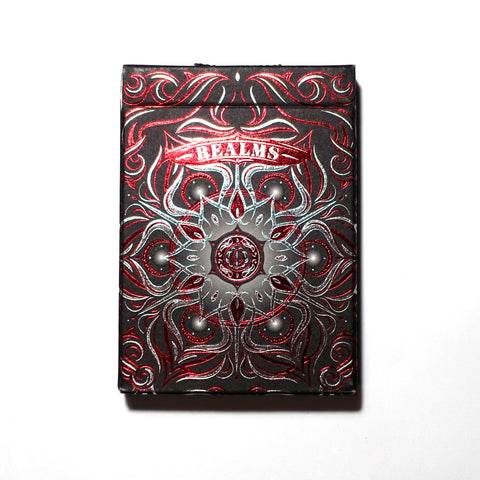 Realms Playing Cards : Red Edition