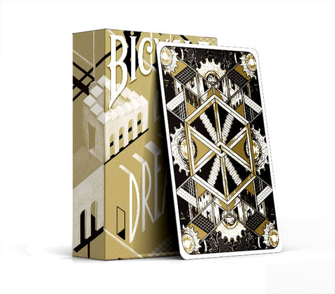 Bicycle Dream Playing Cards : Gold Edition