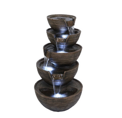 4 Tier Waterfall Fountain