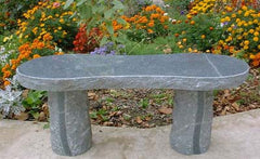 Hourglass Granite Bench