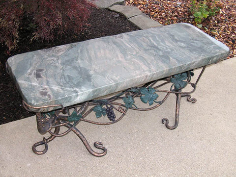 Ocean Splash Jade Bench