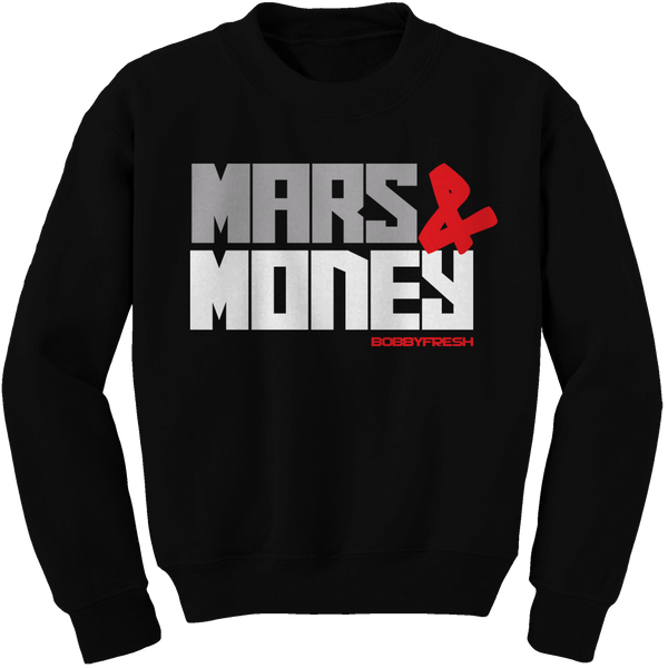 Mars Revolution Black Cement Crewneck