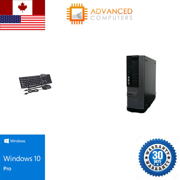 Dell 390 SFF Intel i5 - 2nd Gen, 4GB RAM 500GB HDD, WIN 10 Pro