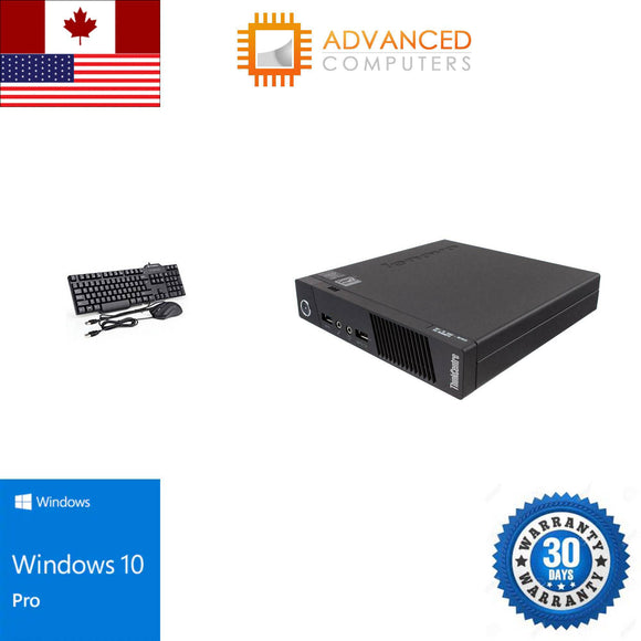 Lenovo M93P Tiny Intel i5 - 4th Gen, 8GB RAM 500GB HDD WIN 10 Pro