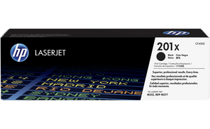 HP 201X High Yield Black Original Toner Cartridge | CF400X