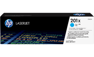 HP 201X High Yield Cyan Original Toner Cartridge | CF401X