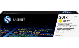 HP 201X High Yield Yellow Original Toner Cartridge | CF402X