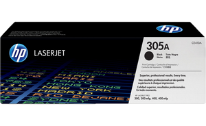 HP 305A Black Original Toner Cartridge | CE410A