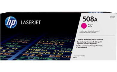 HP 508A Magenta Original Toner Cartridge | CF363A