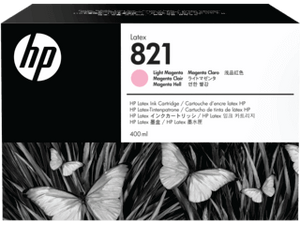 HP 821A  400-ML Light Magenta Latex ink Cartridge | G0Y91A